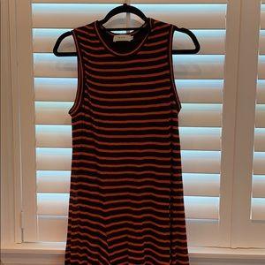 ALC striped linen dress